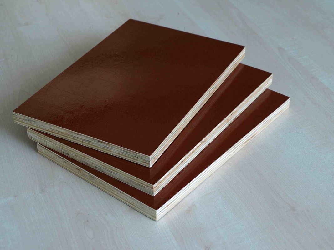 Environmental Protection Brown Film Faced Plywood With Both Sides Melamine Covered