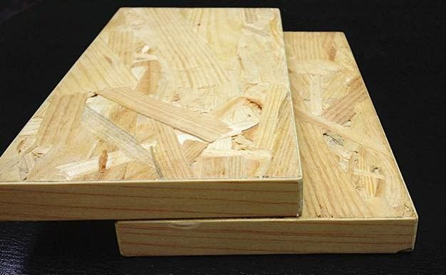 1220*2440 mm Oriented Strand Board For House Construction 660kg/M3 Thickness