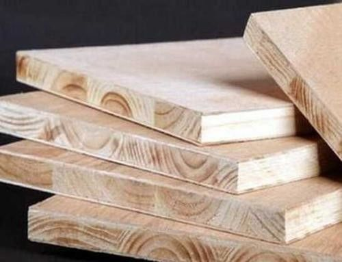 Interior First Class Pine Wood Block Board , Pre Finished Block Board 18mm