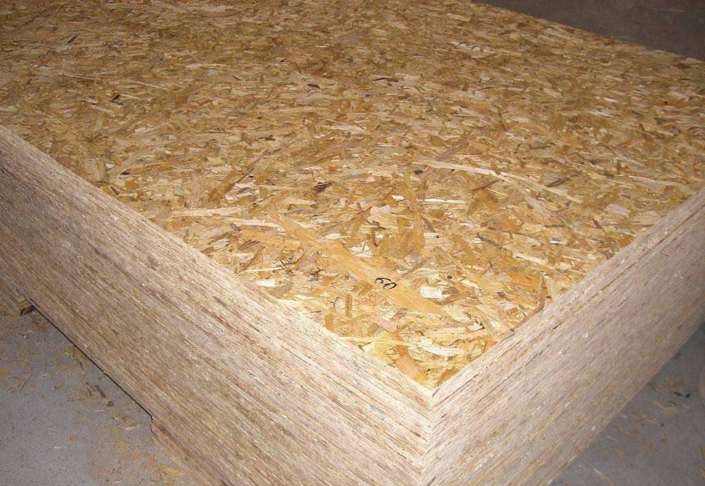 Wood Panels Oriented Strand Board Siding For Delivery Packing Boxes Finished Surface