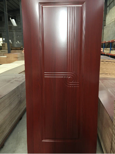 Environmentally Friendly MDF Door Skin For Exterior House Decor 4mm Thickness