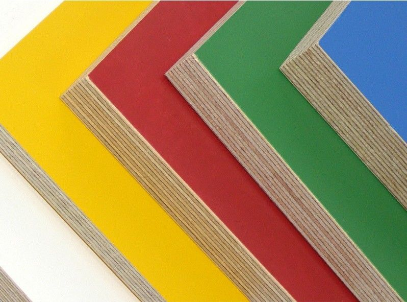 High Gloss UV Coated Commercial Grade Plywood , 25mm Eucalyptus Plywood